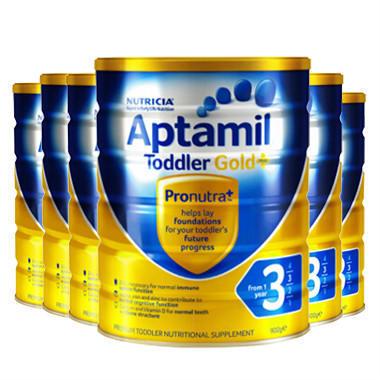 【美国Babyhaven】【6罐包邮装】Aptamil 爱他美 金装版婴幼儿奶粉 900g6 3段