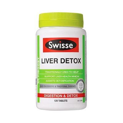 【澳洲RY药房】Swisse 强效肝脏排毒片 120片