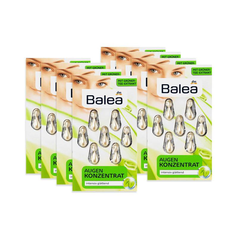 【8件特惠装】Balea芭乐雅 绿茶素深度抗皱保湿精华胶囊 7日量8