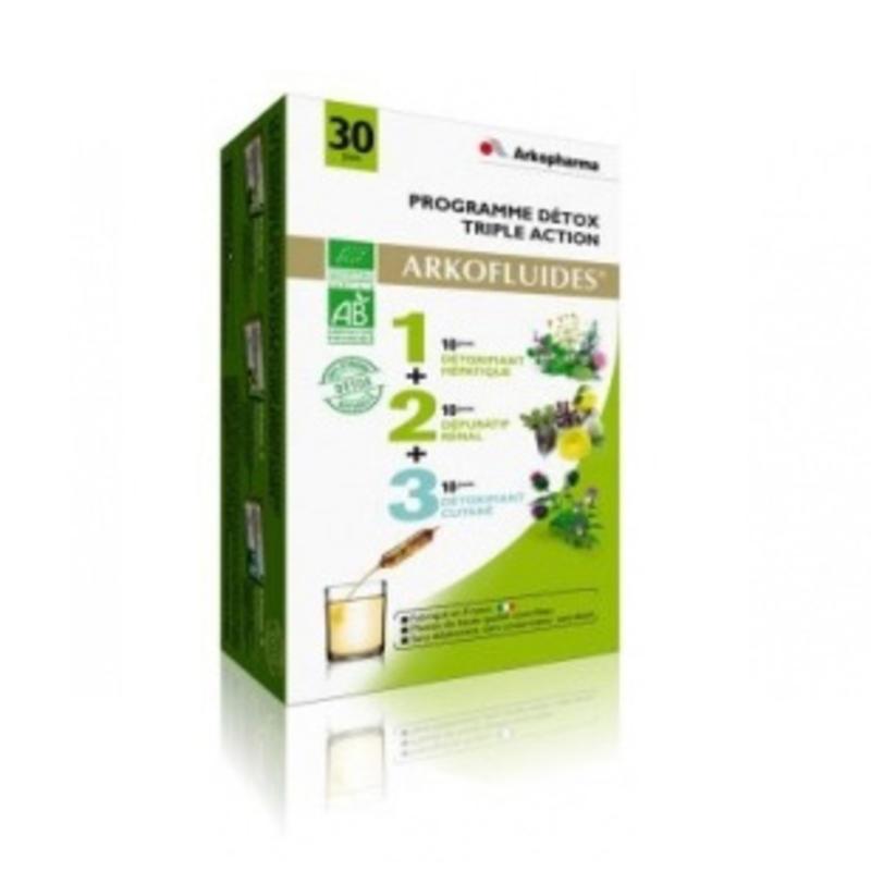 Arkopharma 艾蔻 绿色纤体排毒计划 450ml(3部曲)
