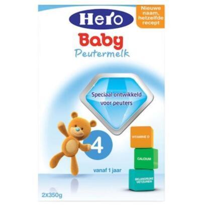 【荷兰DOD】Hero Baby 美素4段婴幼儿配方奶粉 700g(适合1-2岁)