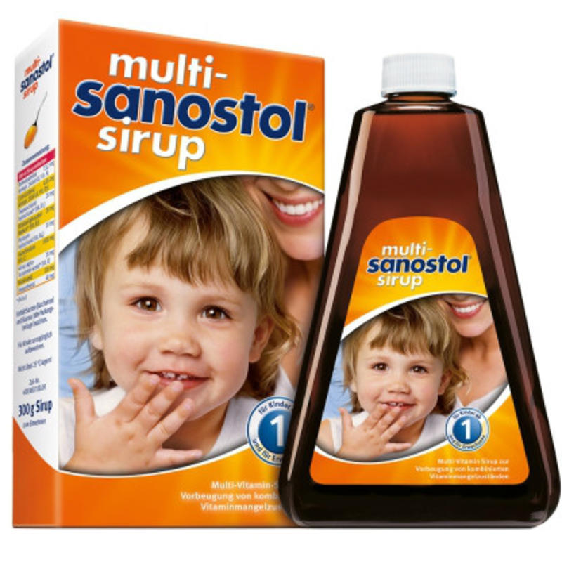 Multi-Sanostol 儿童复合维生素糖浆 300g