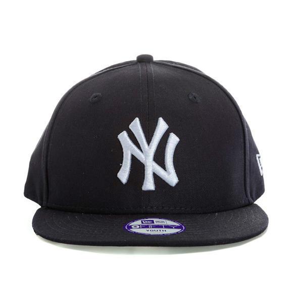 New Era   9Fifty系列 男童纽约洋基队平檐棒球帽,全场更多好物满89立减25镑,包邮包税!
