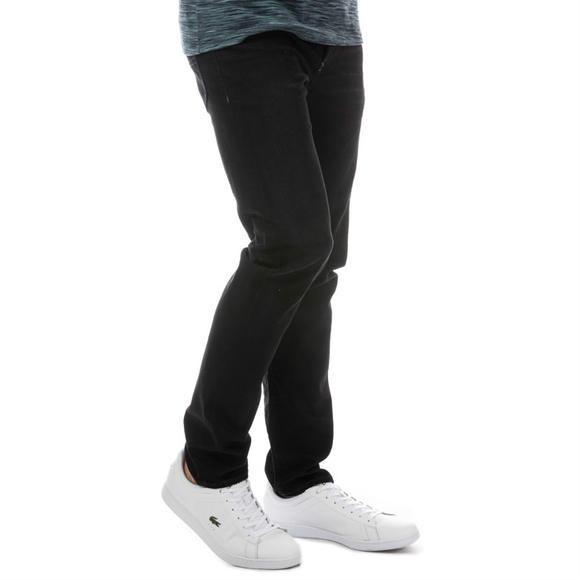 Diesel  男士修身小脚百搭牛仔裤+Lacoste   Carnaby EVO 女士运动鞋