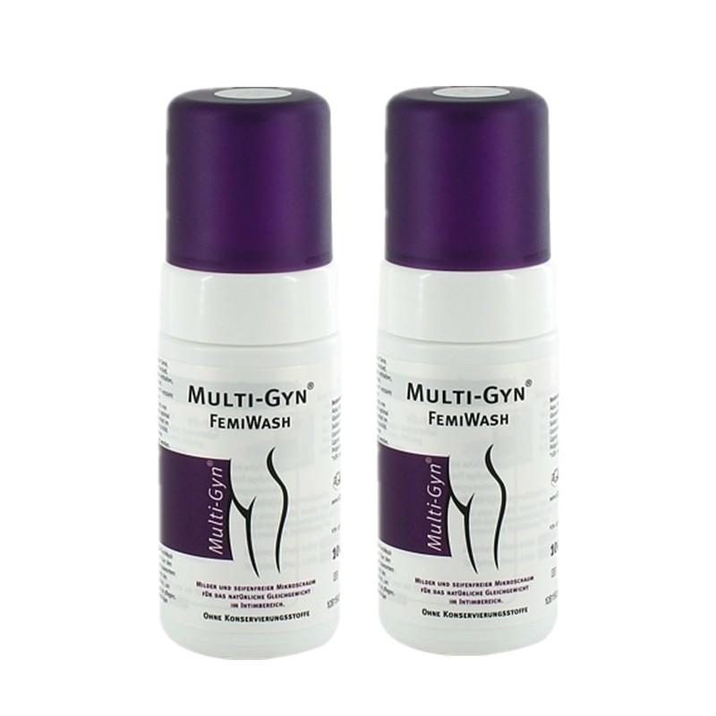 【德国BA】MULTI-GYN 女性外用温和型护理泡沫洗液 无香无皂无防腐剂 100ml 2瓶装