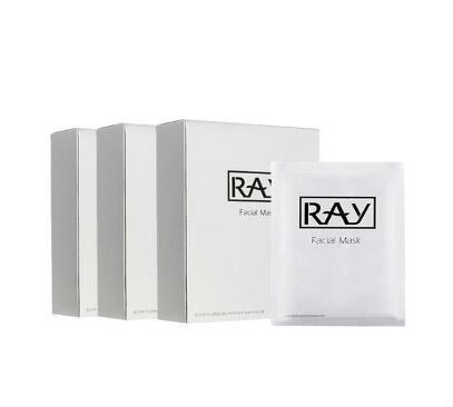 【3件包邮装】RAY 蚕丝面膜 银色款 补水保湿控油晒后修复 310片