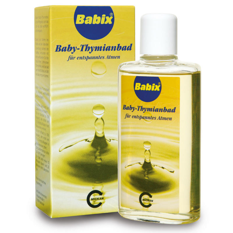 【德国BA】Babix baby 百里香宝宝婴幼儿沐浴精油 125ml