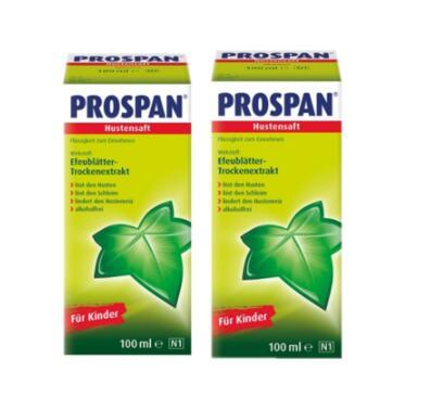 【德国BA】Prospan 常春藤婴幼儿 糖浆 2瓶装