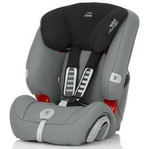 【单件包邮】Britax 宝得适汽车儿童安全座椅Evolva1-2-3 plus超级百变王 钢铁灰