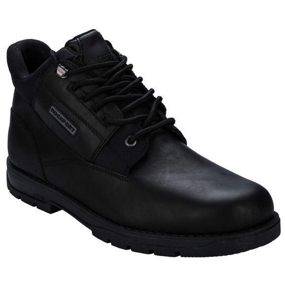 ROCKPORT 男士Treeline Hike时尚休闲短靴+男士Kingstin防水休闲鞋