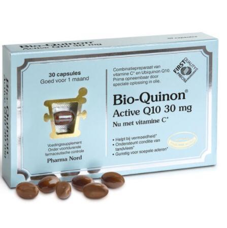 【荷兰DOD】Pharma Nord 法尔诺德 Bio-Quinon 辅酶Q10活性胶囊 30mg/CP 30粒