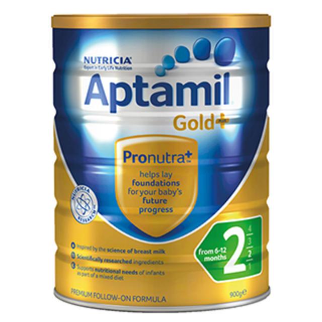 【Amcal澳洲药房】【限量补货】Aptamil 爱他美 金装2段婴幼儿奶粉 900g