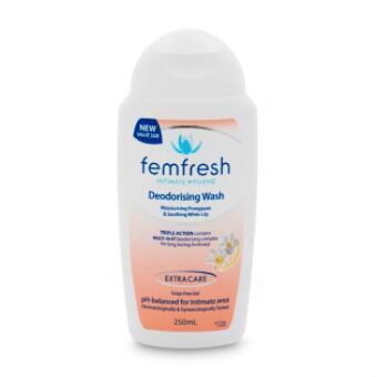【澳洲CD药房】Femfresh 温和无皂女性私密洗护液 250ml (去除异味)