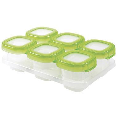 【美国Babyhaven】【无门槛立减2美金】OXO Tot 奥秀 婴儿方块冷冻储存容器 2盎司 绿色