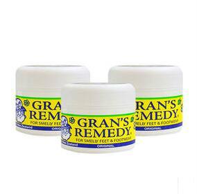 【新西兰PD】Grans Remedy 老奶奶神奇臭脚粉 除脚臭鞋臭粉(原味)3件