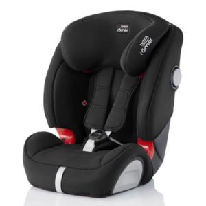 【单件包邮】Britax 宝得适汽车儿童安全座椅Evolva1-2-3 plus超级百变王 宇宙黑