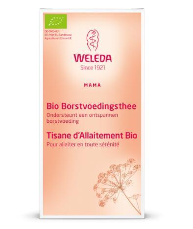 【荷兰DOD】Weleda 维蕾德 有机植物萃取催乳茶/催奶茶 40g