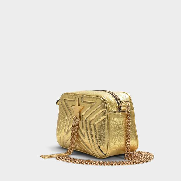 Stella Mccartney Stella Star Metallic mini 链条包+BALMAIN Star mini bag
