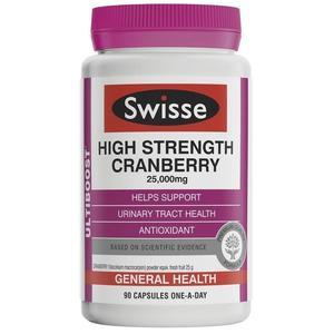 【一次买够3个月量】Swisse 强效蔓越莓精华胶囊(预防妇科问题//卵巢保养)90粒