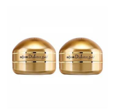 【海豚村】MISKIN Diaforce 第二代贵妇黄金钻石眼膜贴 260片/罐