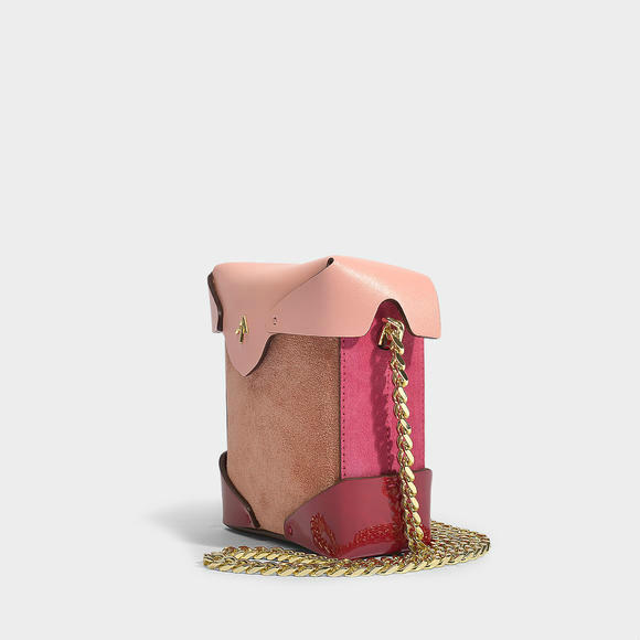 Manu Atelier Pristine micro bag with chain+A.P.C. Coco 单肩斜挎包