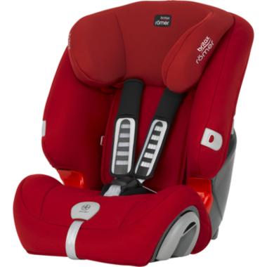 【美国Babyhaven】Britax 宝得适汽车儿童安全座椅Evolva1-2-3 plus超级百变王 热情红
