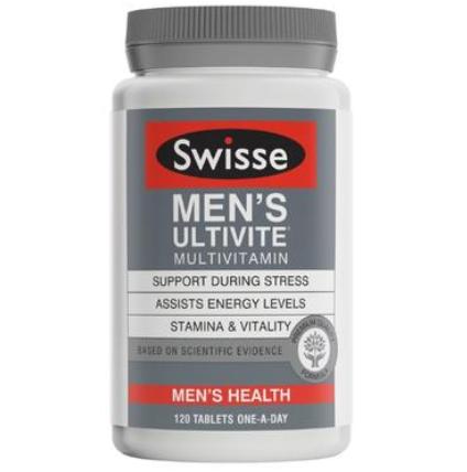 【澳洲PO药房】Swisse 男士复合维生素片 120片