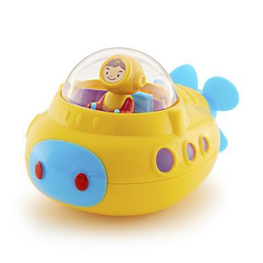 【美国Babyhaven】Munchkin 麦肯奇 潜水艇海底探险洗澡沐浴戏水玩具