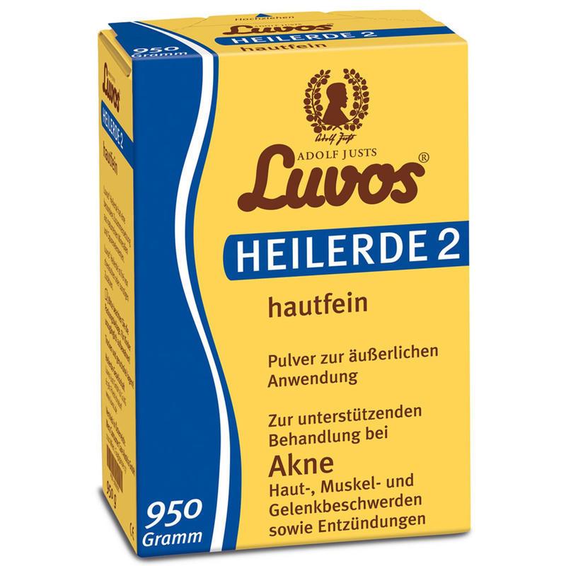 LUVOS 纯天然药泥面膜粉 清洁/去痘/去黑头/去角质 950g