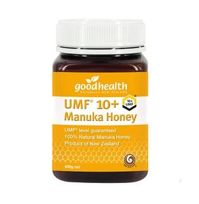 【新西兰PD】Good Health 好健康 麦卢卡蜂蜜 UMF10+ 500g