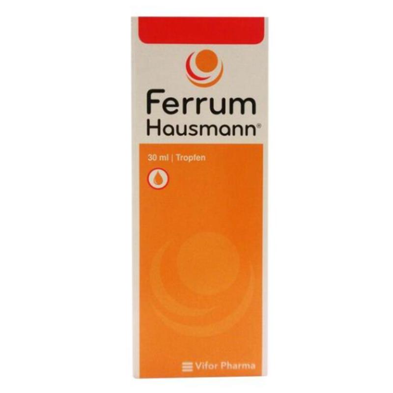 Ferrum Hausmann 婴儿儿童孕妇补铁补血液 30ml