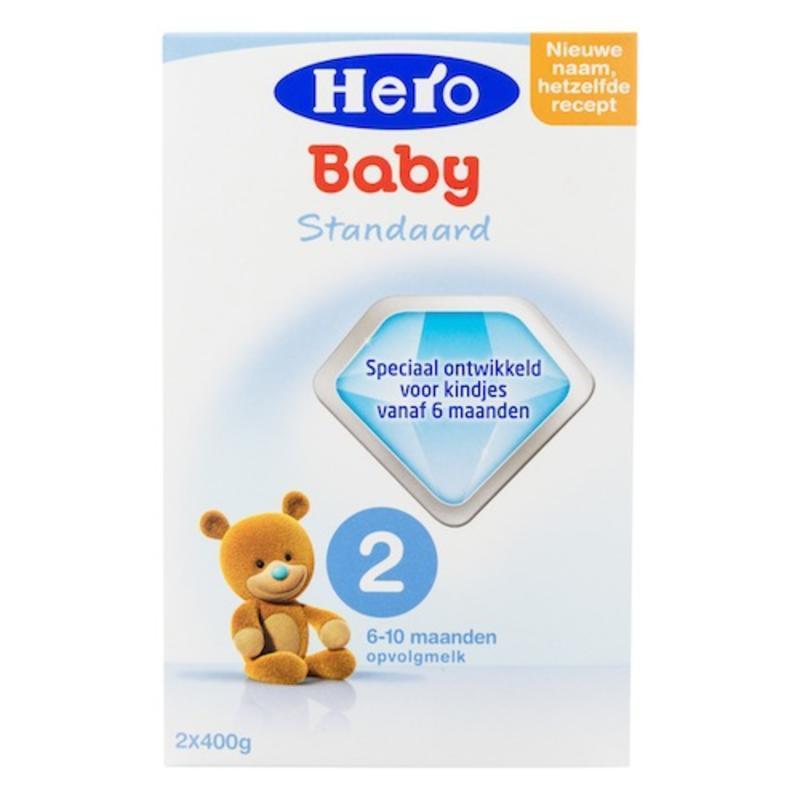 【荷兰DOD】Hero Baby 婴幼儿2段营养奶粉(适合6-10个月婴幼儿)800g