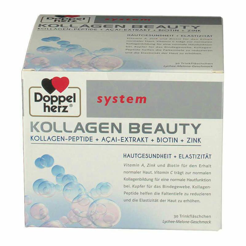 Doppelherz 德国双心胶原蛋白肽美容口服液 30支 恢复Q弹嫩肌美白