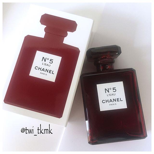 Chanel香奈儿五号新作红色礼服N°5香水11月日本上市