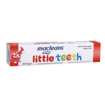 【澳洲CD药房】Macleans 低氟儿童牙膏 4-6岁 63g (防蛀牙)