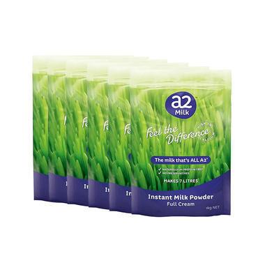 【6袋包邮装】A2 全脂成人奶粉(6袋)
