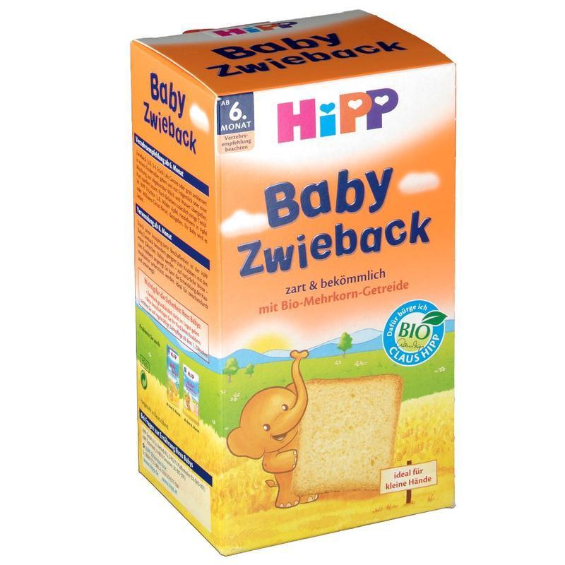 HiPP 喜宝 有机全麦磨牙面包干 100g 6个月+