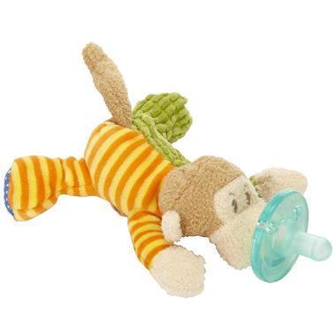 【美国Babyhaven】WubbaNub 猴子曼戈婴儿布偶安抚奶嘴 玛丽梅耶限量版