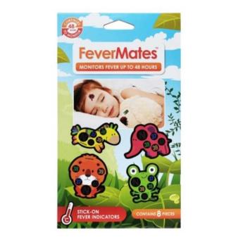 【澳洲CD药房】FeverMates 体温监控计 8个 (监控孩子的发热情况或体温 黏贴式)
