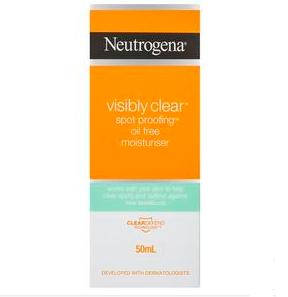 【新西兰PD】Neutrogena 露得清 清透斑点抗油无油保湿霜 50ml