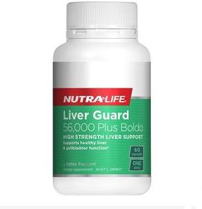 【新西兰PD】Nutralife 纽乐 高含量护肝清肝毒胶囊 60粒