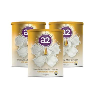 【3罐包邮装/限时特惠】A2 麦卢卡蜂蜜奶粉 400g