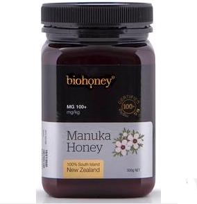 【新西兰PD】Biohoney 麦卢卡蜂蜜 MG100+ 500g