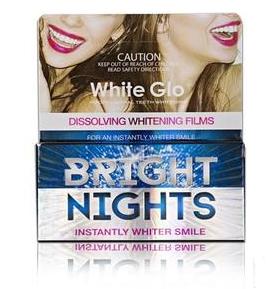 【新西兰PD】White Glo 去黄去渍美白牙贴 6包