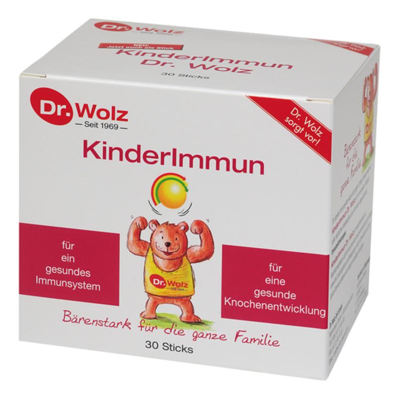 【德国BA】Dr.Wolz 伍兹博士 婴幼儿童牛初乳乳酸菌维生素免疫力粉 促进骨骼发育/增强免疫力 30x2g