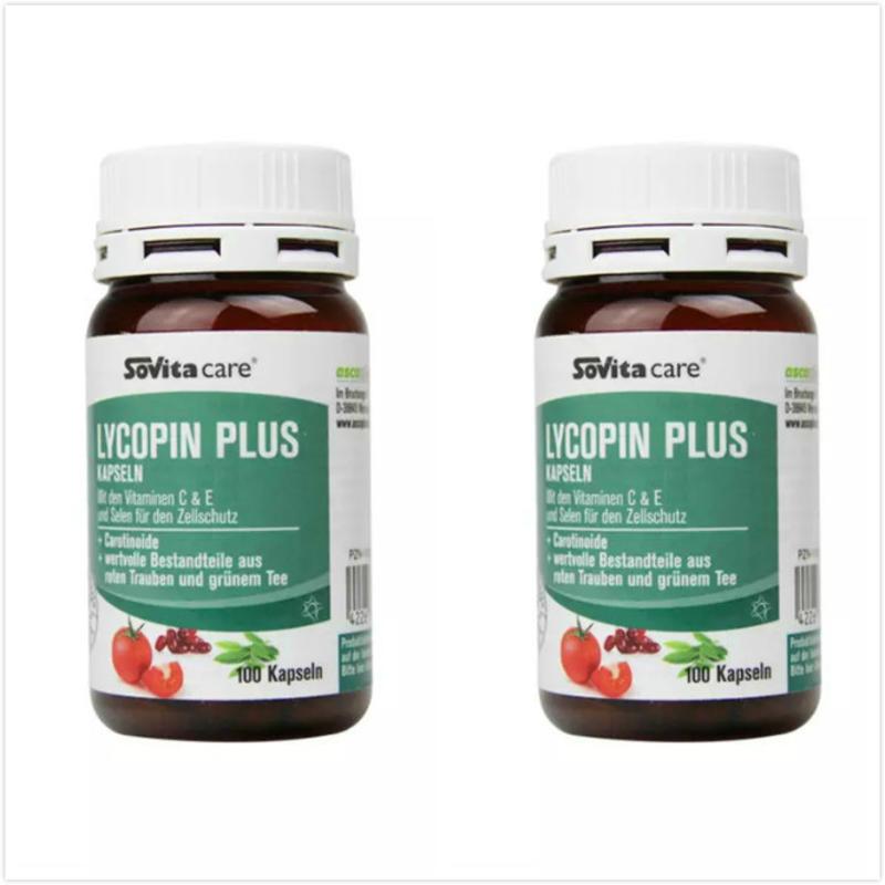 【2瓶装】Sovita 索维他番茄红素抗自由基延缓衰老胶囊 1002粒