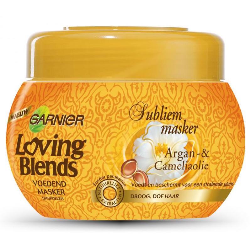【荷兰DOD】Garnier 卡尼尔 摩洛哥坚果&amp山茶油水洗发膜 300ml