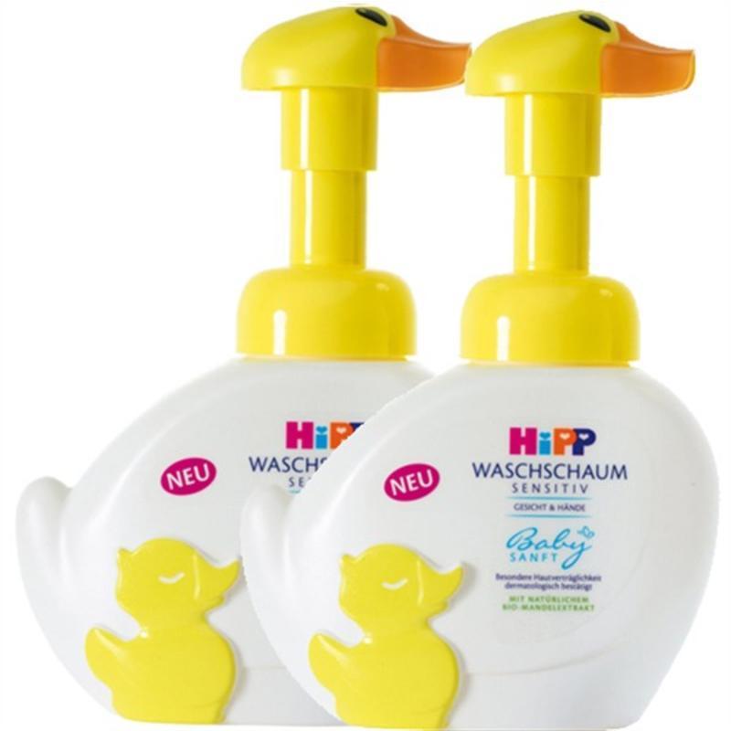 【德国BA】2 x Hipp 喜宝 免敏无泪宝宝泡泡洗手洗脸液 250ml