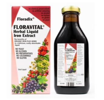【澳洲CD药房】Floradix 铁元 草本有机液体铁剂 500ml(补铁补气血)