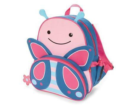 【无门槛立减3美金】Skip Hop Zoo动物园系列 儿童双肩背包书包 蝴蝶